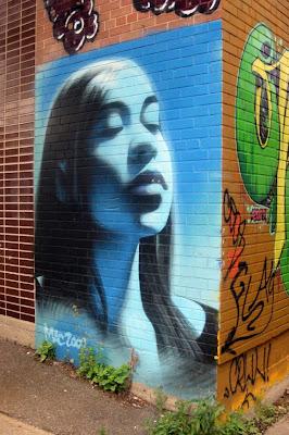 Arte Urbano  en una esquina