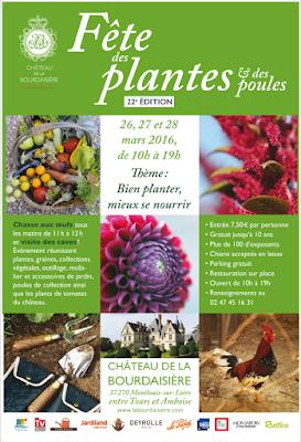 2 éme Fête des Plantes et des Poules à la Bourdaisière