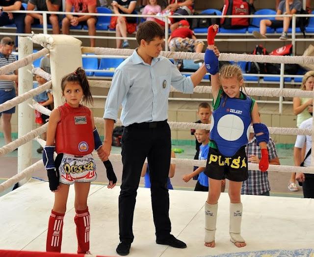 muay thai amateur kids sports Ukraine boxing Thai boxing