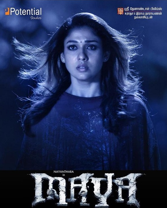 Maya 2015 Hindi Multi Audio 650MB UNCUT HDRip 720p ESubs HEVC