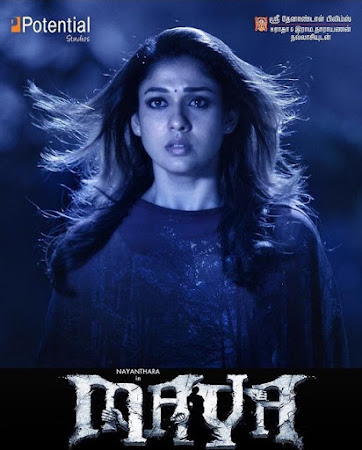 Poster Of Maya 2015 Full Movie In Hindi Dubbed Download HD 100MB Tamil & Telugu Movie For Mobiles 3gp Mp4 HEVC Watch Online