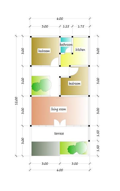 floor plan of beautiful house plan 10