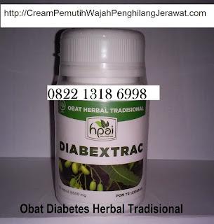 Obat diabetes alami Diabextrac penurun gula herbal tradisional
