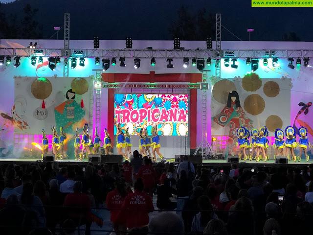 Las comparsas brillaron en el escenario del Carnaval aridanense