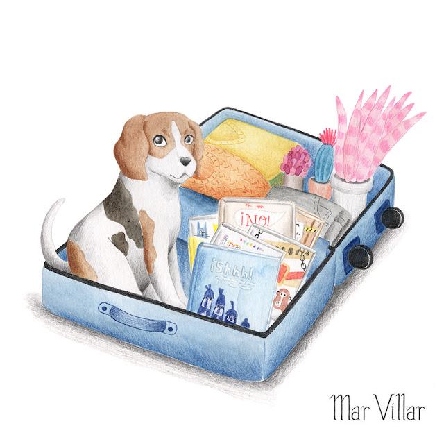 Retrato de mascota por encargo, retrato de perro por encargo, dibujo de mascota por encargo, dibujo de perro por encargo, ilustración de mascota, dibujo de mascota, ilustración de animal de compañía, retrato de beagle, Mar Villar, encargo personalizado, ilustración personalizada, dibujo personalizado