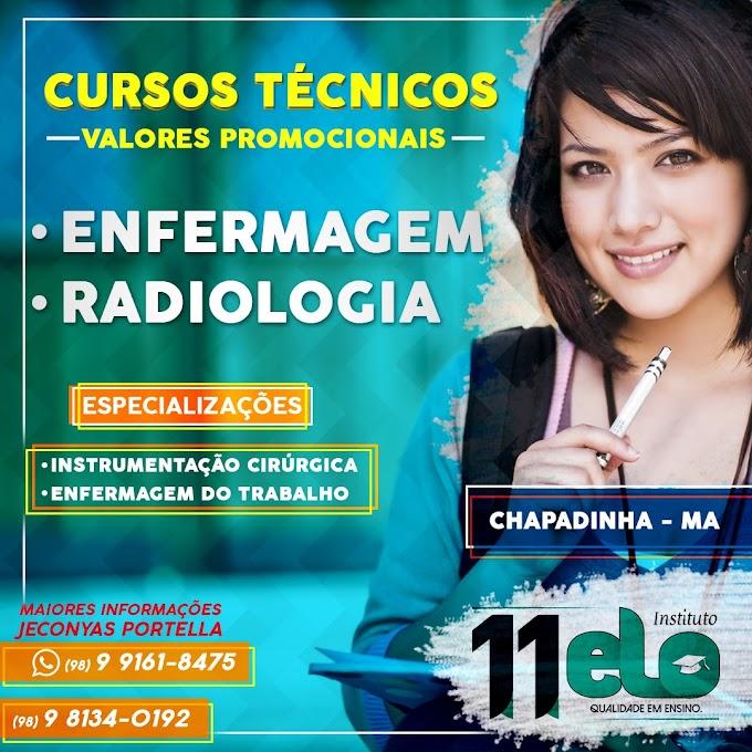 Oportunidade: Cursos técnicos em enfermagem e radiologia com preço promocional