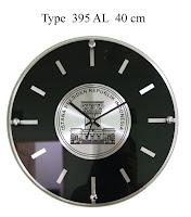 Jam Dinding Alumunium , (Aluminium Frame)