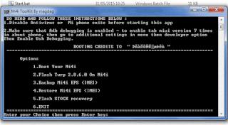 Cara Root Xiaomi Mi4i dengan Mi4i Toolkit