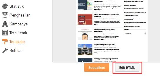Cara Mengganti Background Sebuah Postingan Blogger