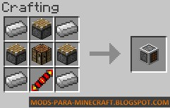 Crafteo del Mod AutoPackager Mod para Minecraft 1.7.10
