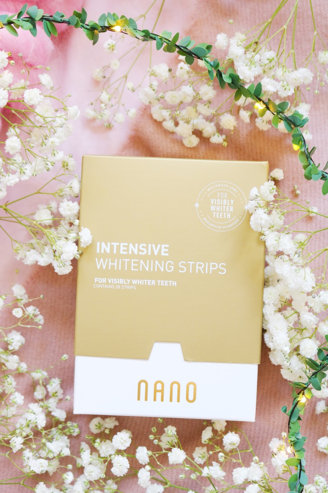 Initial Impressions: Nano Intensive Whitening Strips