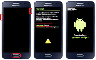 Cara flash samsung A3