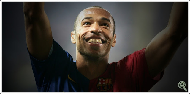 Thierry Henry Barcelona Forward