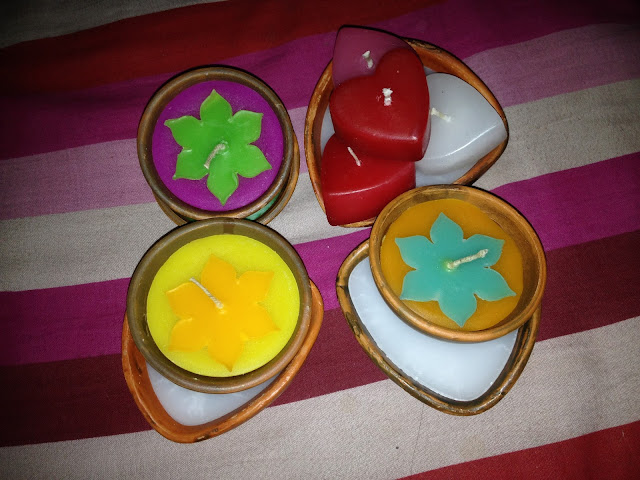 Candles for home decorate