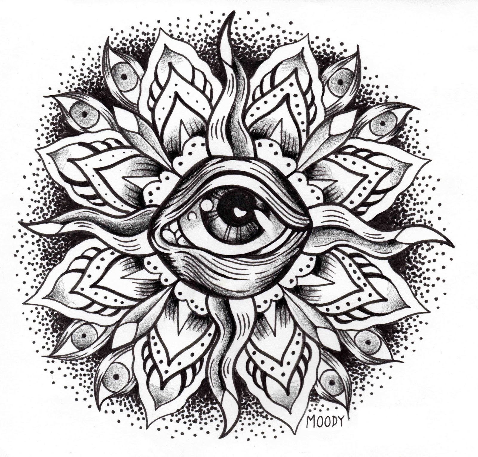 MANDALA COLORING PAGES: RELAXING COLORING PAGES FOR ADULTS ...