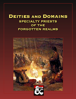 D&D 5th Edition Specialty Deities and Domains: Priests of