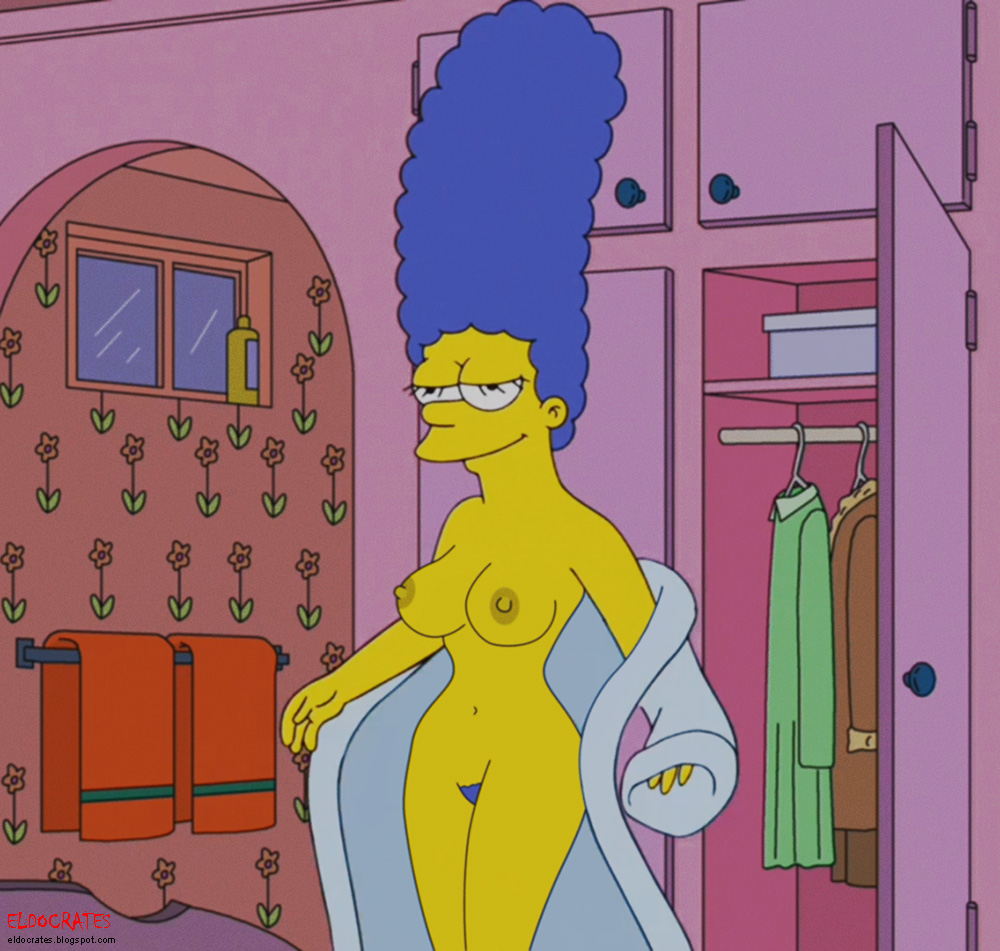 Marge Simpson Coming Out Of The Bath Naked Porn