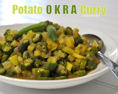 Potato Okra Curry Recipe