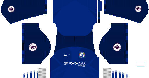 Chelsea 2017/18 Seasons Kit/jersey DLS 17/FTS 18