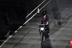 Roy Suryo Persoalkan Aksi Stuntman Motor Jokowi