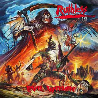 """Το τραγούδι των Ruthless """"Evil Within"""" από τον ομότιτλο δίσκο"""