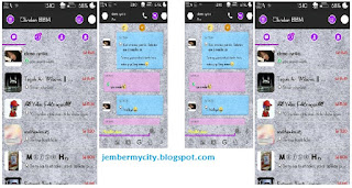 BBM simple purple versi 2.9.0.45