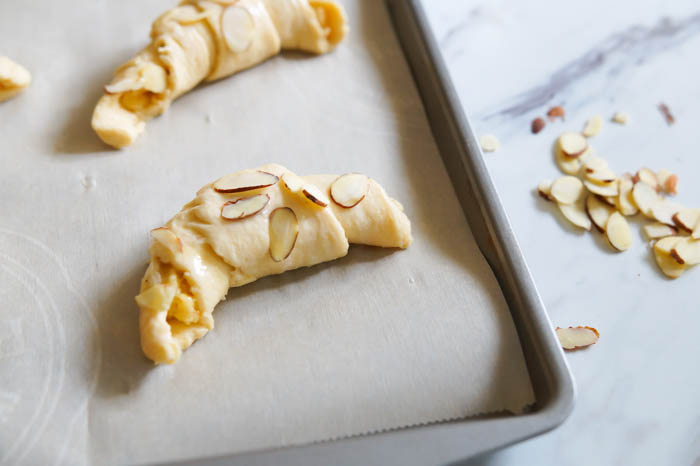 Almond-Filled Crescents, three ways! | bakeat350.net