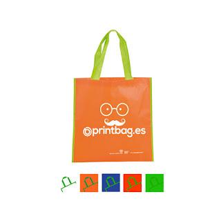 Bolsas recicladas baratas Naranjas