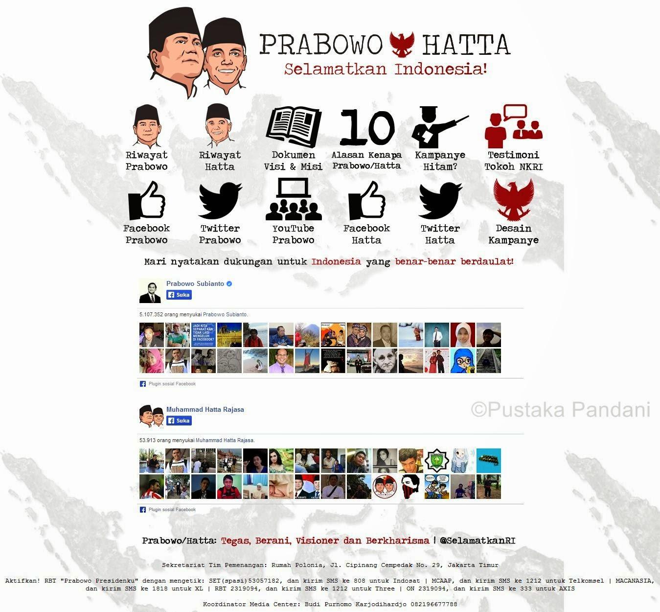 Sosial Media Jokowi VS Prabowo
