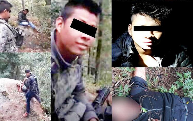 """VIDEO, Detienen a """"El Largo"""" sicario de La Familia Michoacana y autor de la ejecución y emboscada en la masacre de 4 policías en EdoMex."""