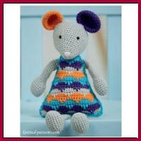 Ratoncito a crochet