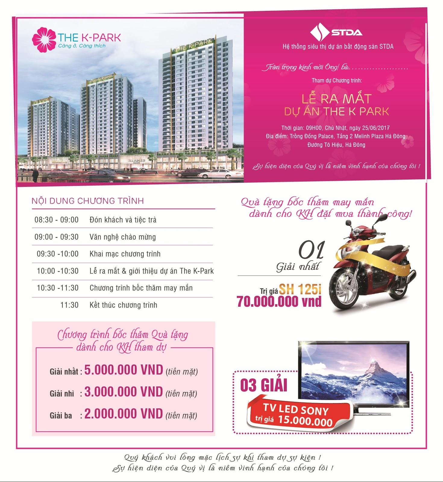 Mở bán chung cư The K Park Văn Phú