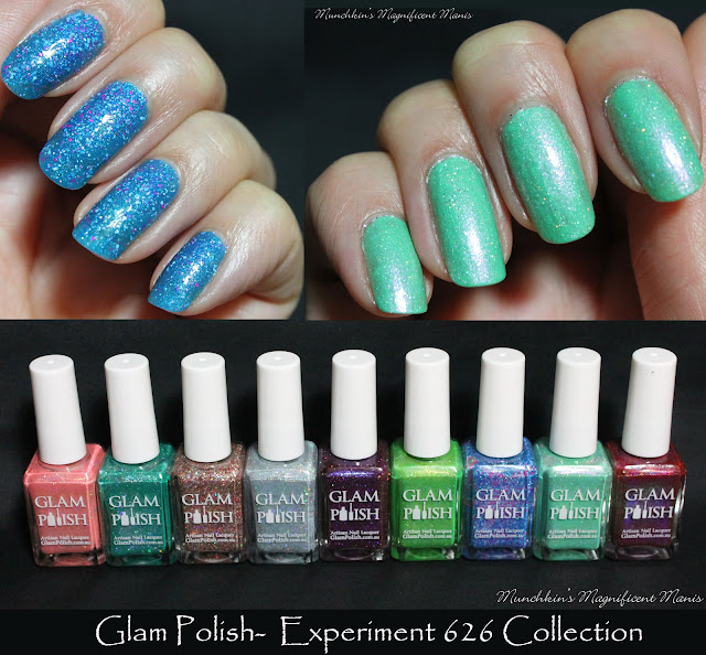 Glam Polish Experiment 626 Collection- Stitch to the Rescue and Nobody gets left behind or forgotten