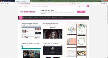 merubah template blog dengan mudah dan cepat