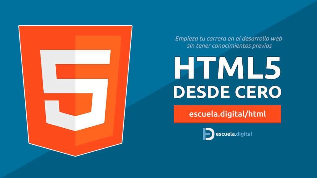 EscuelaDigital: HTML5 Desde Cero