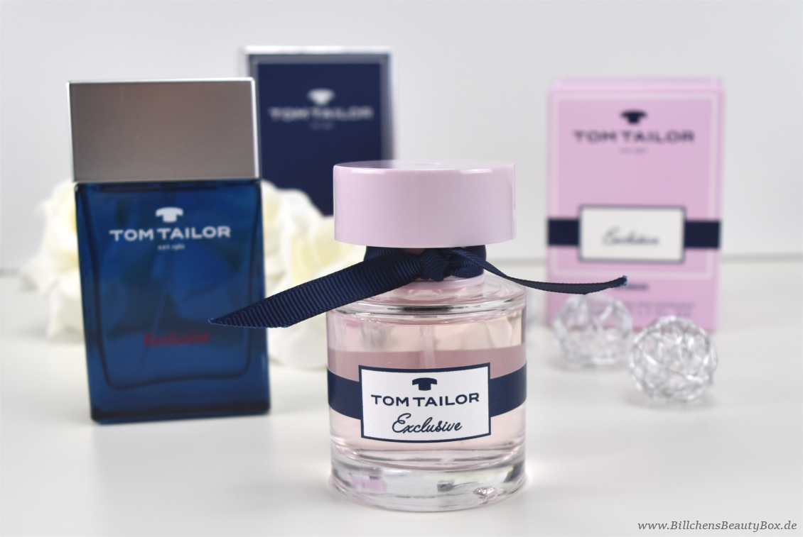 Tom Tailor - Exclusive Woman & Man - Review & Duftbeschreibung