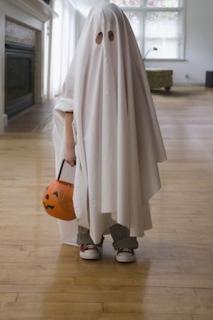 Déguisement Halloween fantôme facile blog www.unjourmonprinceviendra26.com
