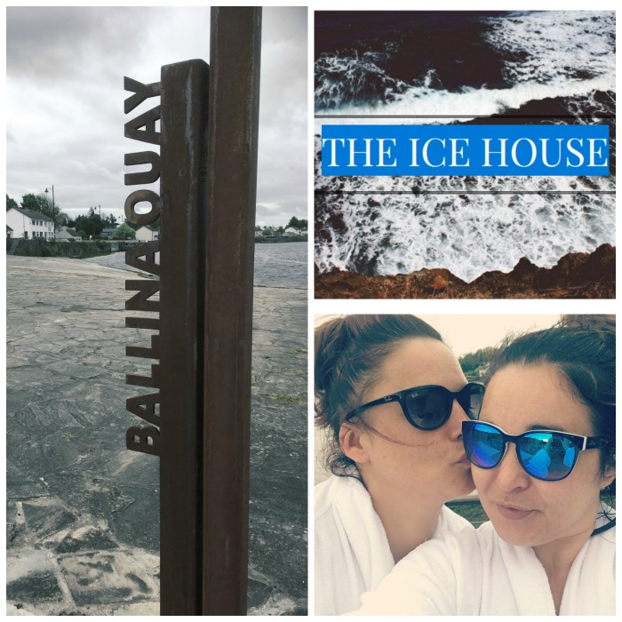 sisters bonding at the Ice House Hotel in Ballina, Mayo, Ireland
