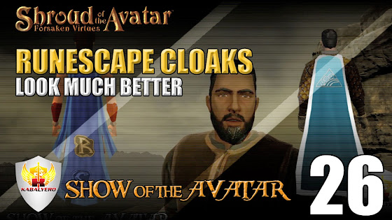 Shroud Of The Avatar Cloaks - Runescape Cloaks Look Better