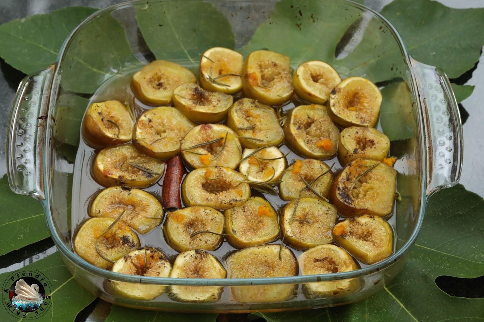 Figues rôties au rhum et épices