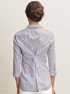 DIY, ideas para ajustar una blusa o un cárdigan que te queda grande
