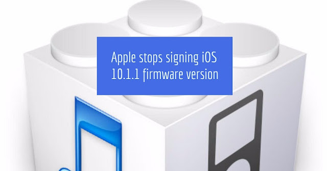 Apple has stopped signing iOS 10.1.1 firmware version.Now you can't downgrade to iOS 10.1.1 on iPhone, iPad and iPod touch, as Apple stops signing iOS 10.1.1 firmware version so if you are on lower iOS version