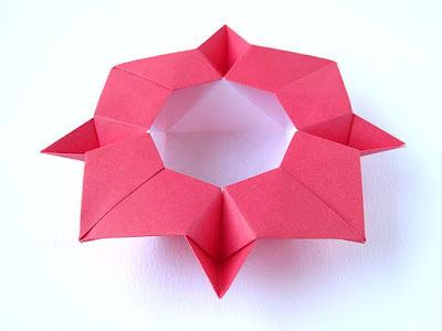 Origami; Scatola cristallina © by Francesco Guarnieri