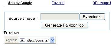 Herramienta online crear favicon