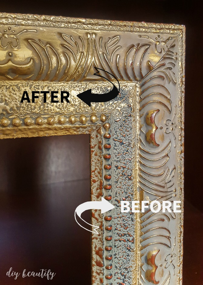 With a few simple steps, you can completely transform an old frame into a stunning statement piece! For all the details on this budget makeover, head to diy beautify!