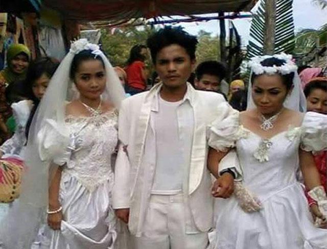 Razul Timbukong Asal Filipina Menikahi 2 Wanita