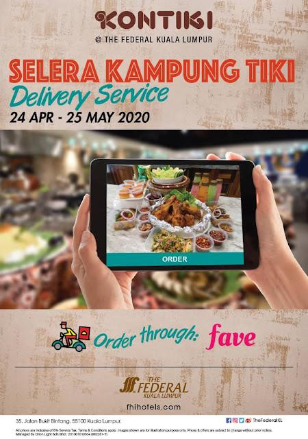 RAMADHAN FOOD DELIVERY 2020 - FEDERAL HOTEL KONTIKI SELERA KAMPUNG