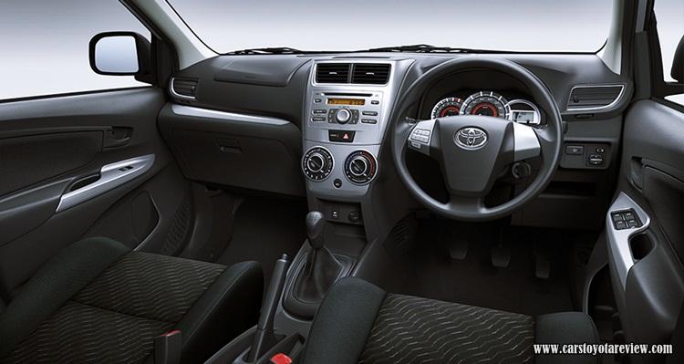 2018 Toyota Avanza G Interior