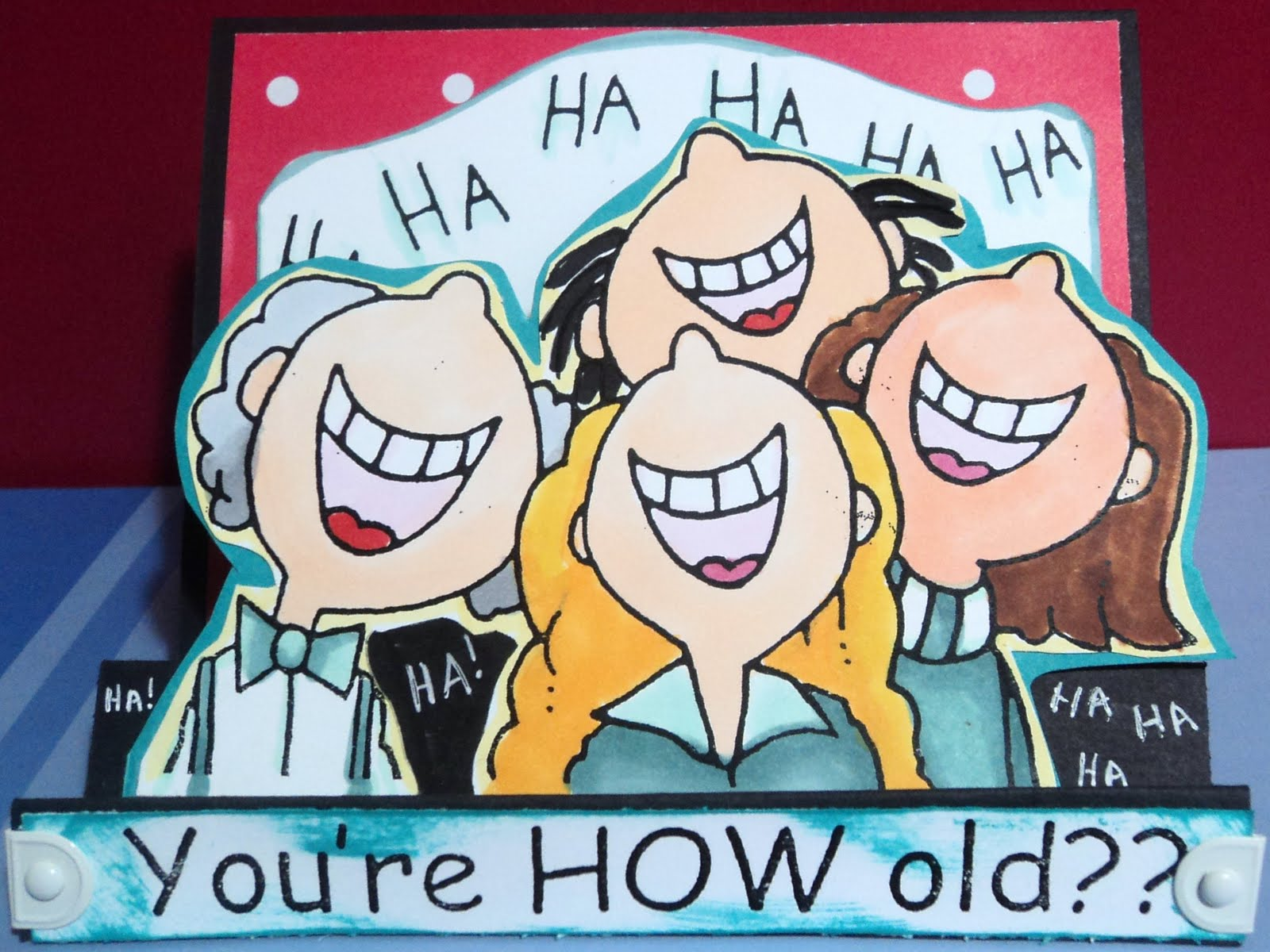 Patacake Pages: Funny Birthday Card