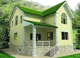Desain Rumah di Sudut Jalan